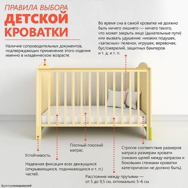 Все о кроватках для новорожденных: полезные советы родителям