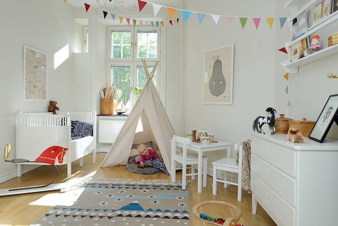 Детская в скандинавском стиле - обустрой дом