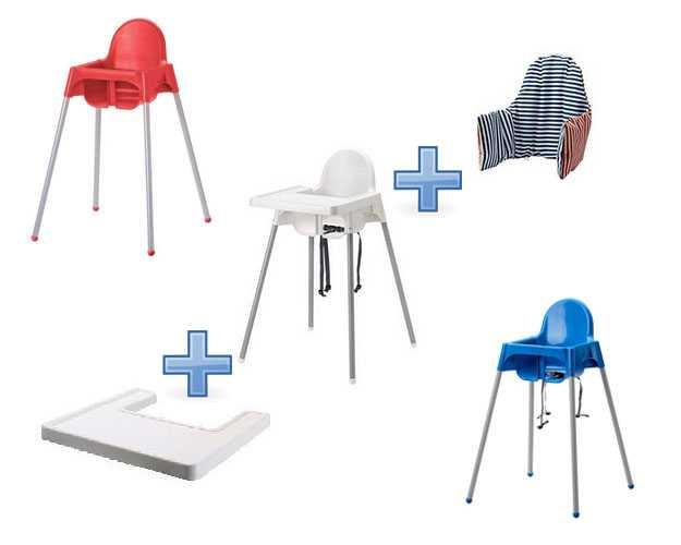 Какой выбрать стульчик для кормления? обзор моделей.