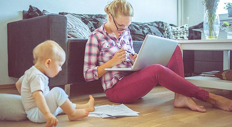 Как работать с группой детей. 10 лайфхаков от опытной мамы: как работать из дома с детьми