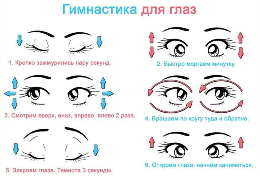 Упражнения для глаз: рекомендации (сергиев посад)   парацельс