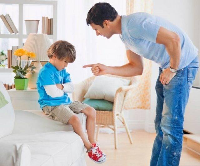Как правильно наказать ребенка за плохое поведение и непослушание, можно ли физически
