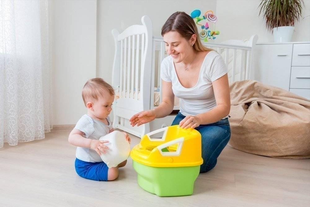 Как быстро отучить ребенка от памперсов