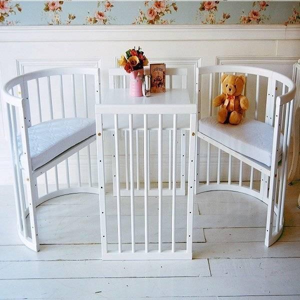 Кровать трансформер для новорожденных детей: виды и правила выбора