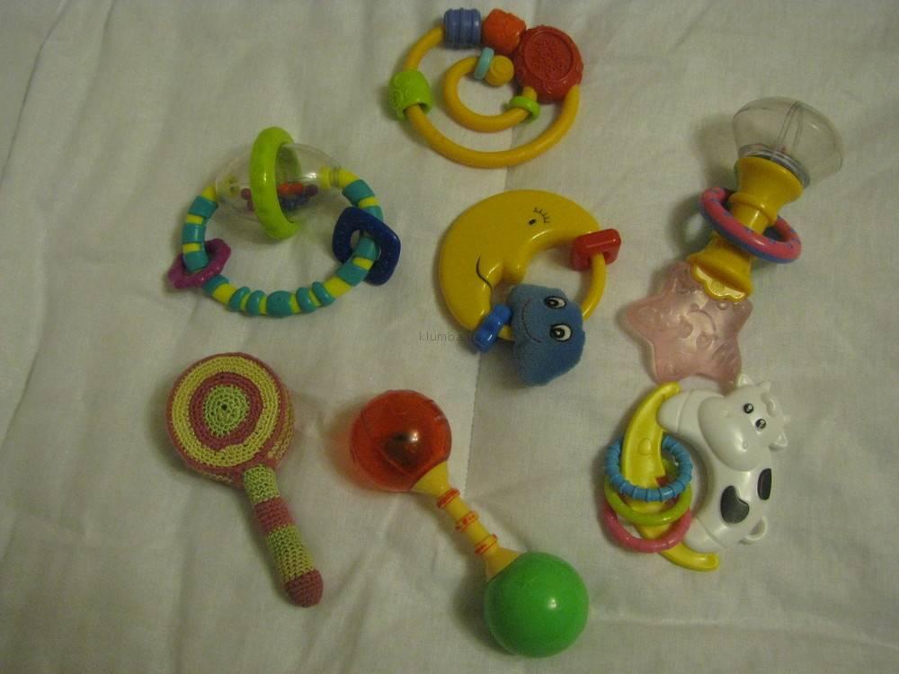 Детские погремушки - первые и самые главные игрушки для детей