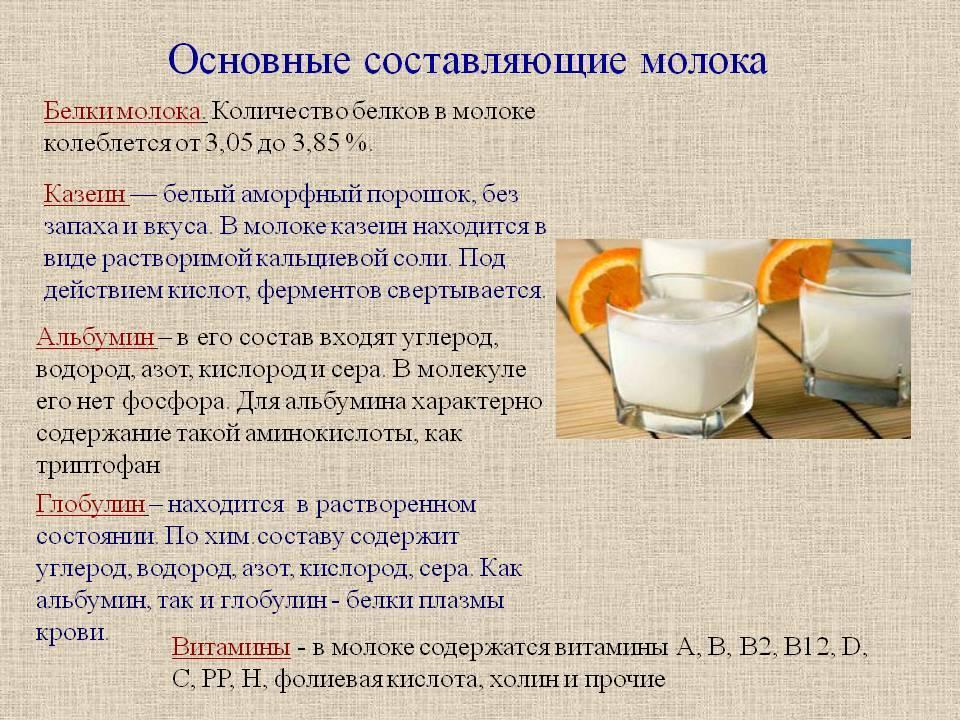 Калорийность и состав грудного молока