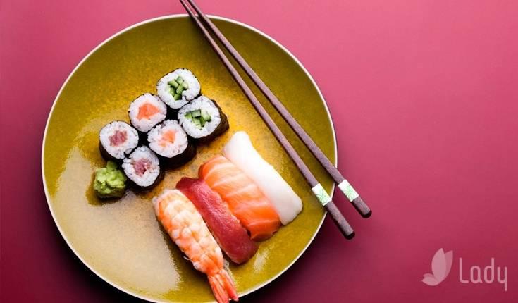 Можно ли суши при грудном вскармливании в первый месяц