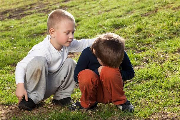 Как научить ребенка дружить