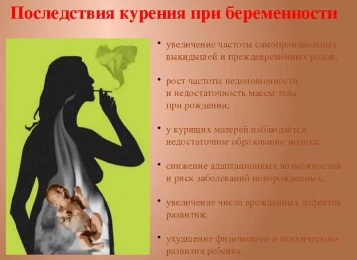 Можно ли кормящей матери курить сигареты: последствия для детей   салид