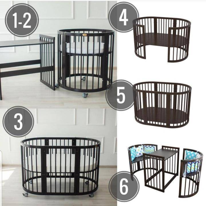 Как выбрать кроватку для новорожденного комаровский видео
