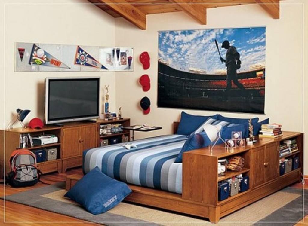 Комната мальчика-подростка - 90 фото интерьеров
