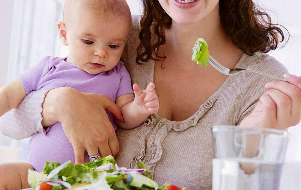 Чеснок и лук при грудном вскармливании: можно ли их кушать кормящей маме