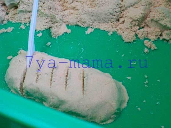 Песочницы для дома с кинетическим песком