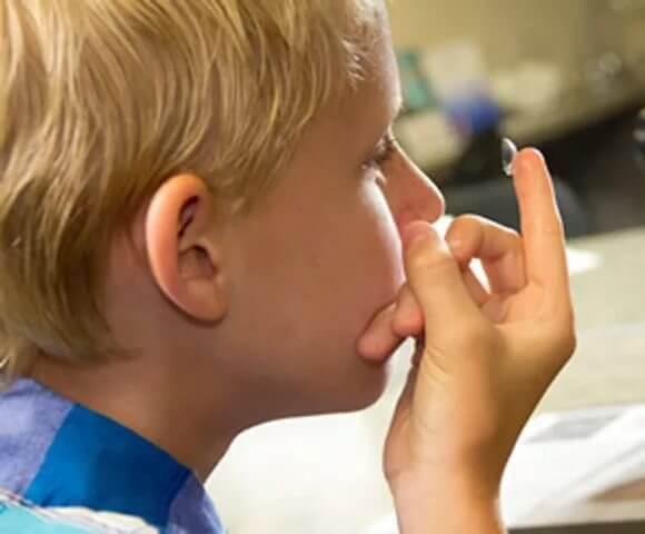 Контактные линзы и дети