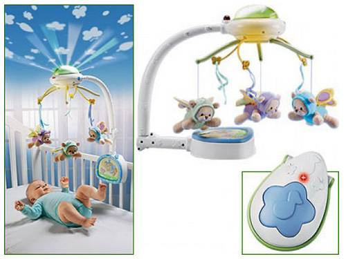 Мобиль на кроватку для новорожденных: рейтинг лучших, как выбрать с фото
