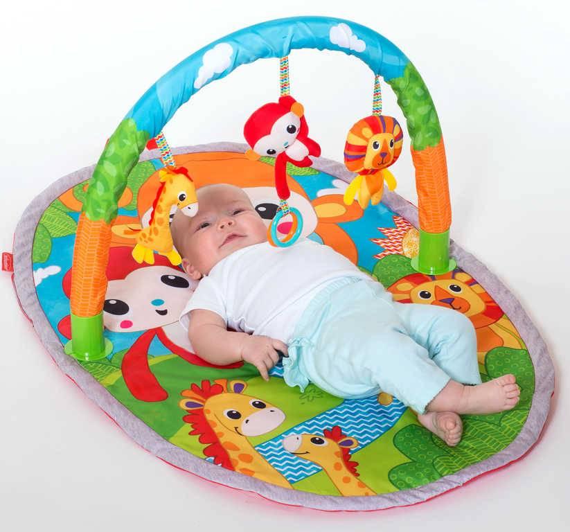 Развивающий коврик для новорожденного: какие бывают и как выбрать?