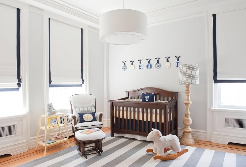Дизайн и правила обустройства комнаты новорожденного