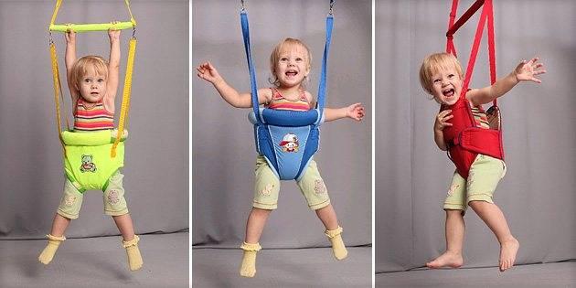 Прыгунки для детей: с какого возраста