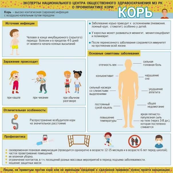 Корь: источники, описание, осложнения, профилактика заболевания - нии эпидемологии