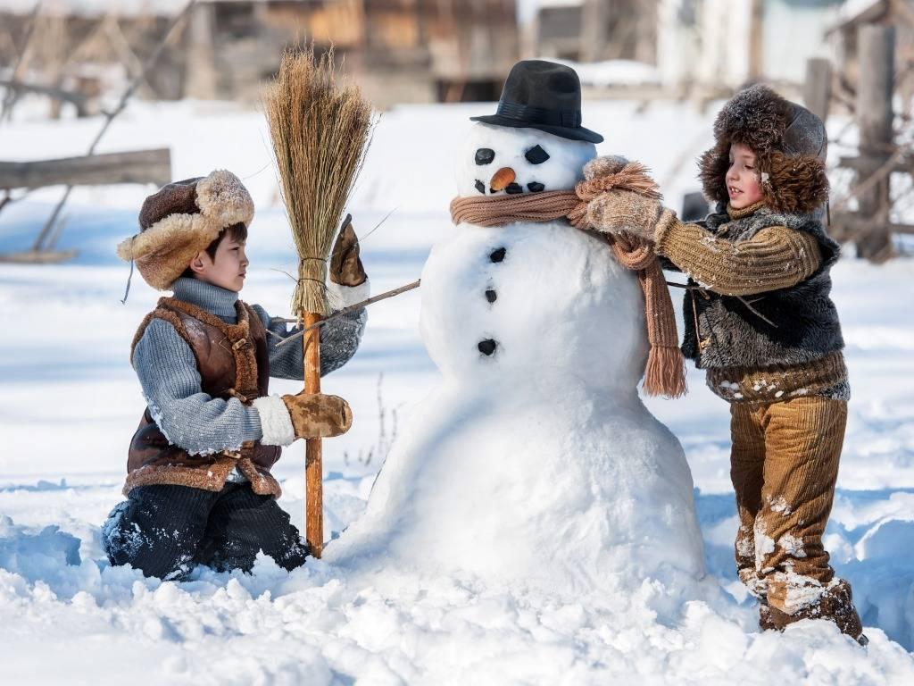 Зимние забавы для детей