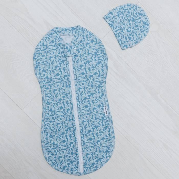 Пеленка кокон для новорожденных - виды и как сделать своими руками