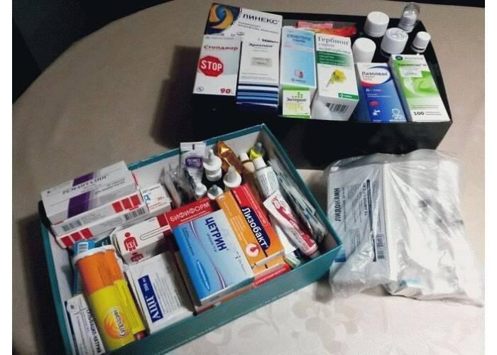 10 главных лекарств для детской отпускной аптечки: обзор препаратов, советы и рекомендации врача