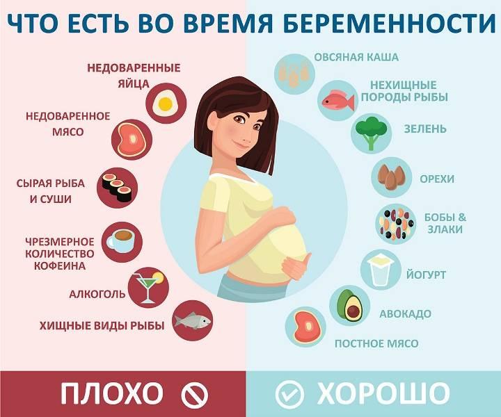 Питание во втором триместре беременности
