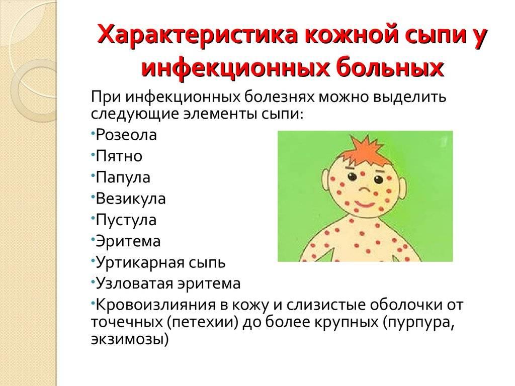 Глава 30. дифференциальная диагностика экзантем у детей: от морфологического элемента — к диагнозу » библиотека врача