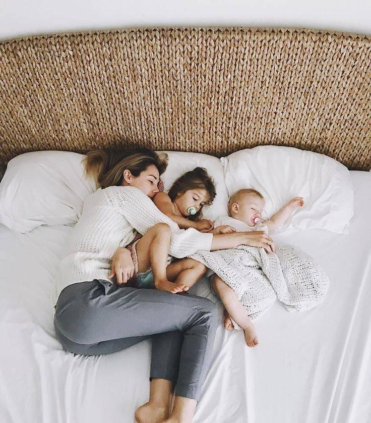 Практикуем совместный сон с новорожденным: требования к родителям