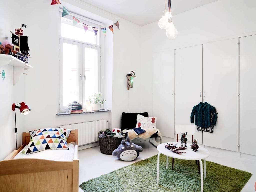 Детская комната в скандинавском стиле - идеи дизайна интерьера