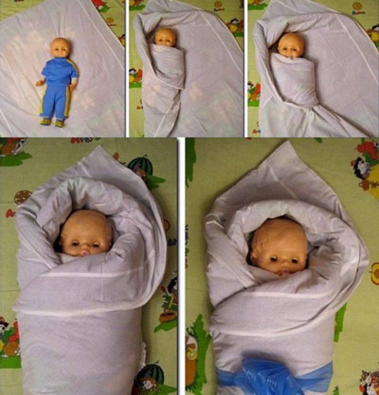 Ползунки или пеленки. ползунки для новорожденных