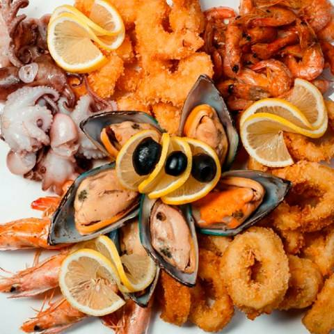 Морепродукты при грудном вскармливании