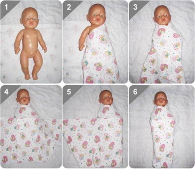 Сколько пеленок нужно новорожденному зимой