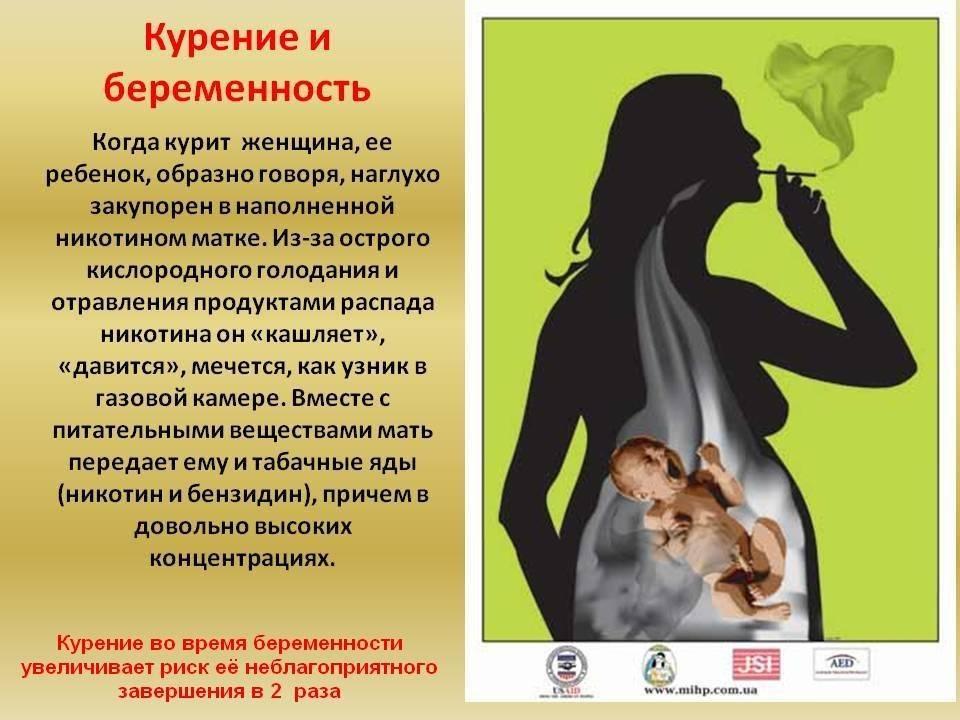 «табачный» и «алкогольный» синдромы плода