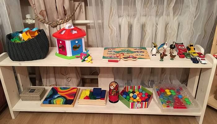 Монтессори для ребёнка 3 лет: среда на возраст 3-4 года