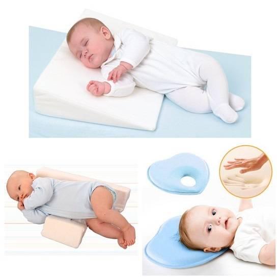 Ортопедическая подушка для новорожденных — за и против