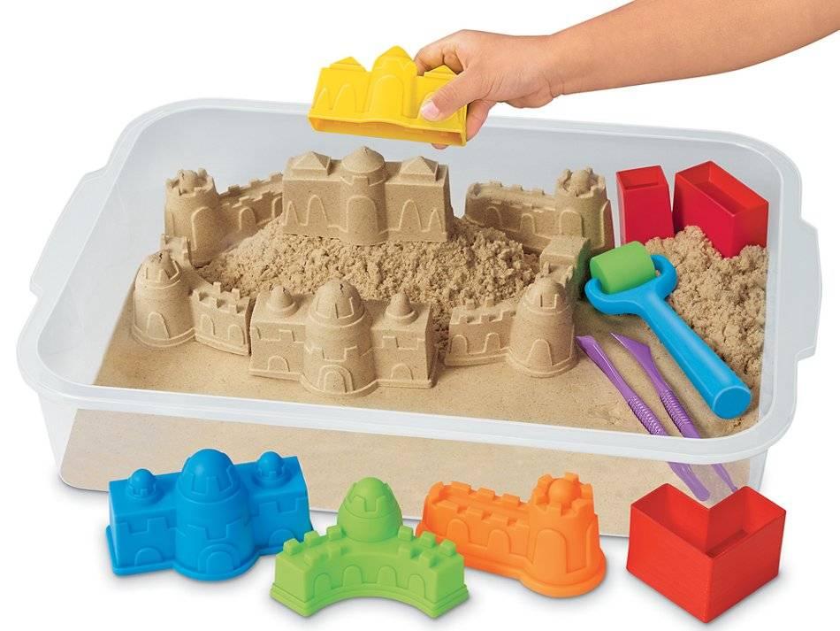Приёмы работы с кинетическим песком в детском саду