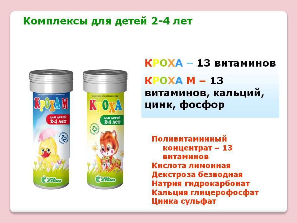 7 лучших витаминов для детей 2-х лет - рейтинг 2021