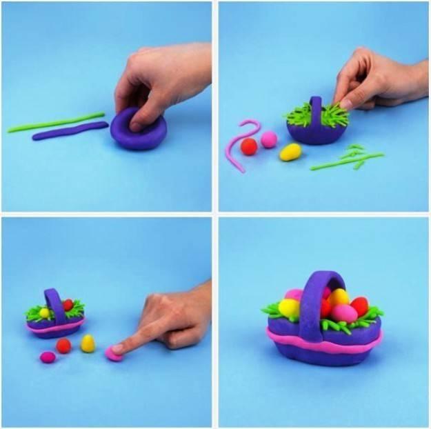 Занимательные уроки по лепке фигурок из пластилина. забавные поделки из пластилина для детей 5-6 лет