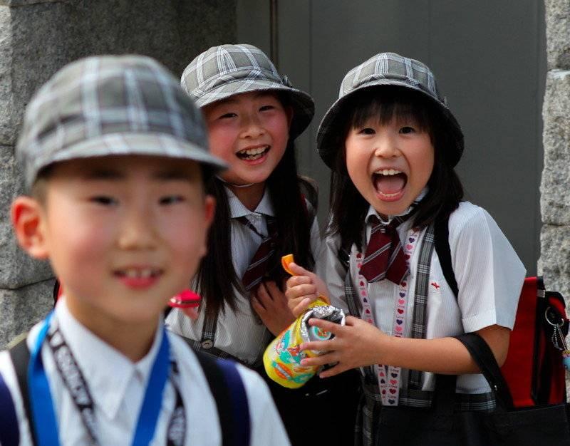 Воспитание по — японски