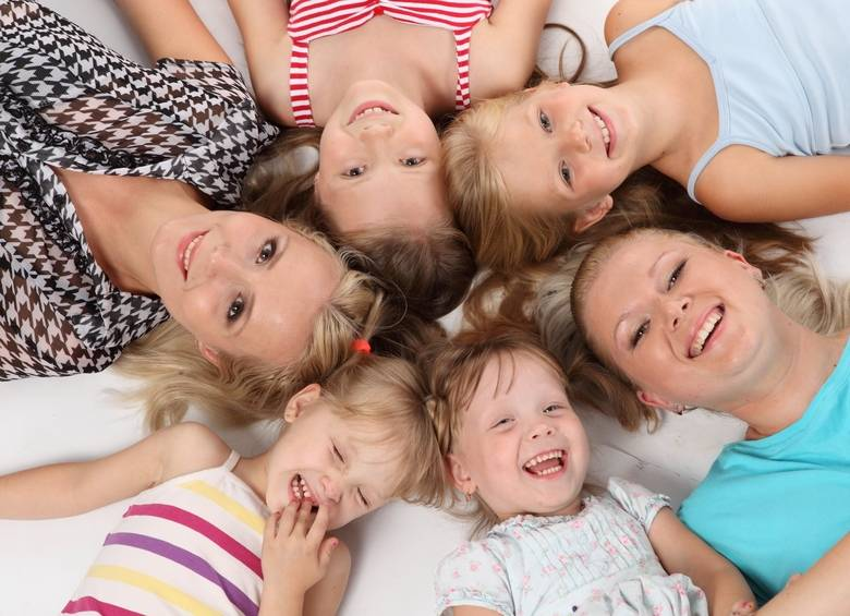 Секреты выживания мамы в многодетной семье