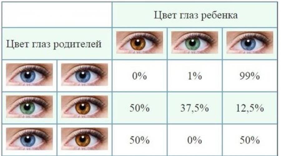 Когда меняется цвет глаз у новорожденных и от чего он зависит?