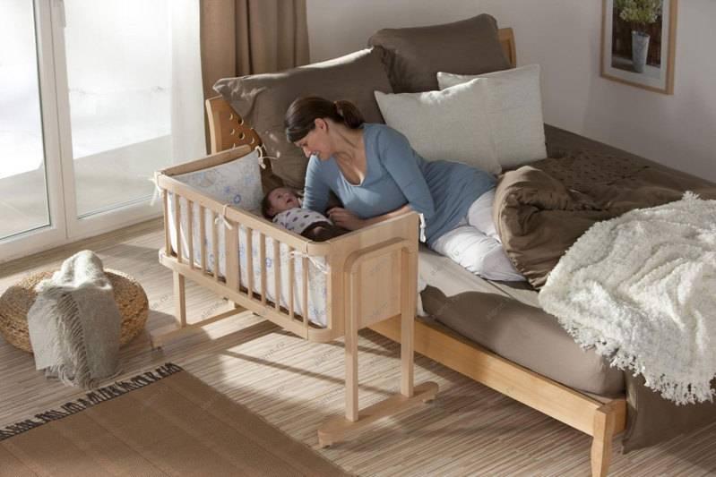 Какую кроватку выбрать для новорожденного