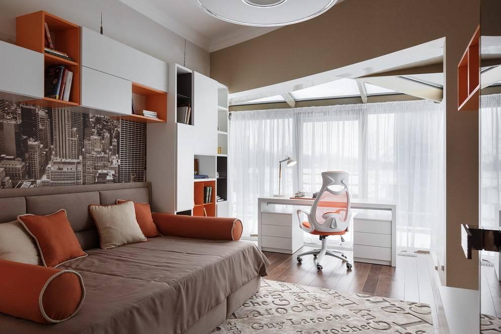 Красивые интерьеры и дизайн комнаты подростка