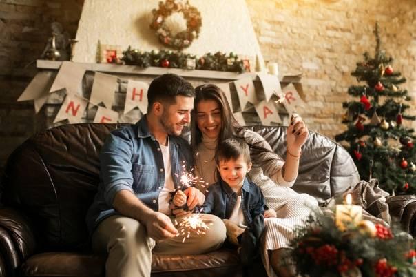 Новый год с новорожденным: спокойно и незабываемо! покупки для новорожденного