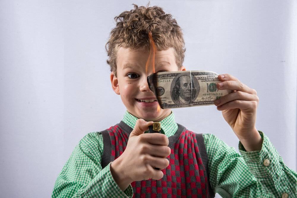 Как научить ребенка ценить деньги