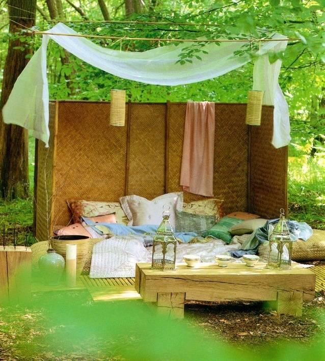 Зона отдыха на даче: 105 фото идей оформления и дизайна мест для релаксации