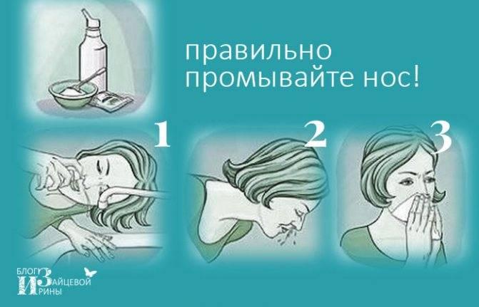 Как правильно промывать нос аквалором взрослому и ребенку?