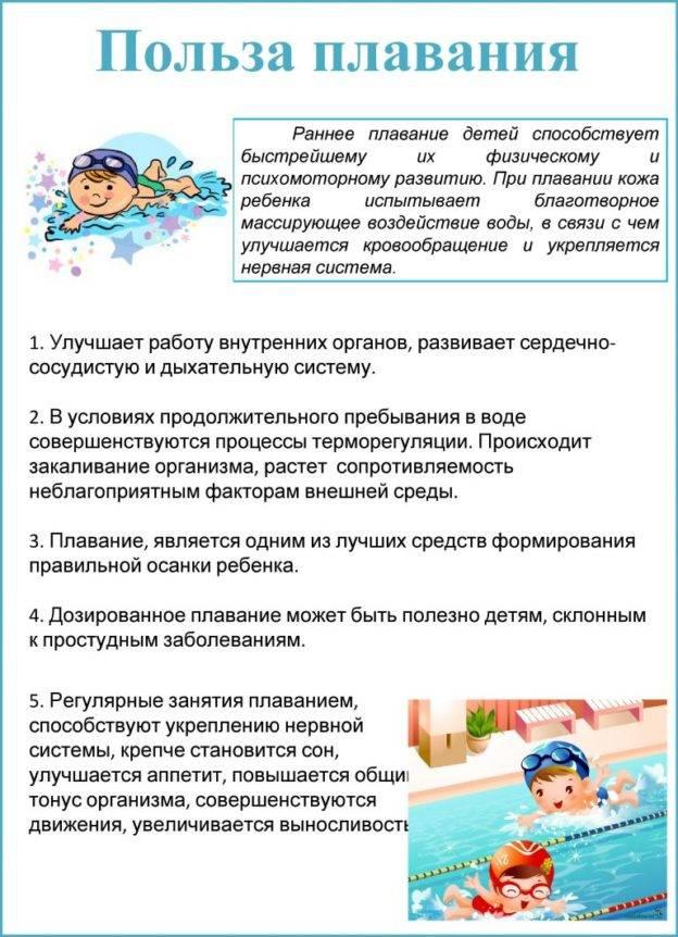 Бассейн для грудничков: обучение плаванию и нырянию младенцев