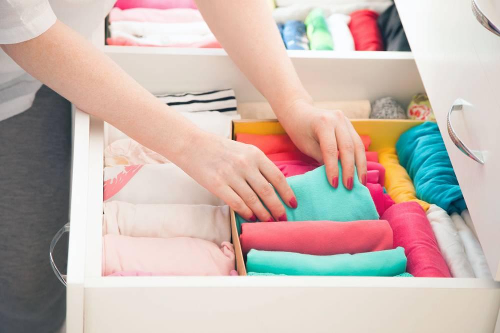 5 полезных советов, как хранить детскую одежду